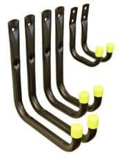 Headbourne Universal Storage Hooks Unsleeved Pack of 6 - 170 x 190mm, 110 x 190mm, 70 x 100mm
